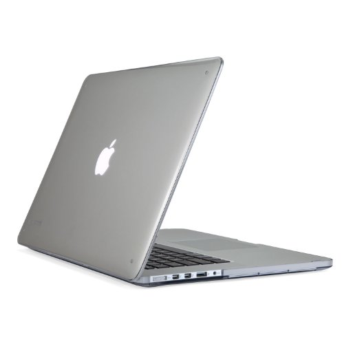 Speck SeeThru Clear Lightweight Polycarbonate Hard Shell Protective Case Cover for 15 Inch MacBook Pro with Retina Display- Transparent (Compatible with 2013 model only)