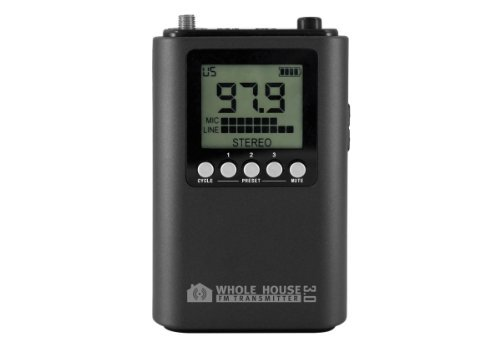 Whole House FM Transmitter 3.0 for TV, Home, Stereo