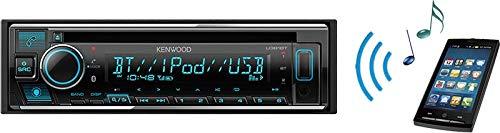 KENWOOD(ケンウッド)BluetoothAlexa対応バリアブルイルミ1DINオーディオデッキU381BT