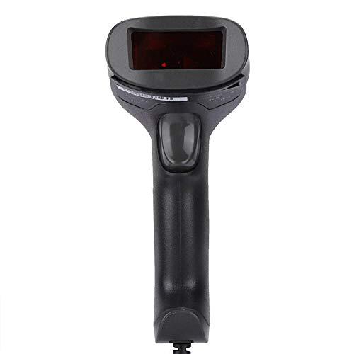 Best Price fosa Barcode Scanner USB Wired Scanner Gun 100 Times/Second Scanning, 50 Million Clicks B...
