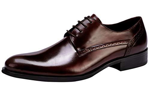 XUANXAI Zapatos Lace Outlet Bullock Derby De Cuero Elegante Vestido Formal De...