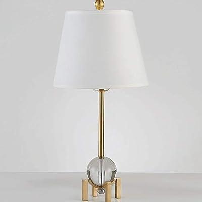 Eglo RAINA E14 Marrón, Níquel, Color blanco lámpara de mesa ...