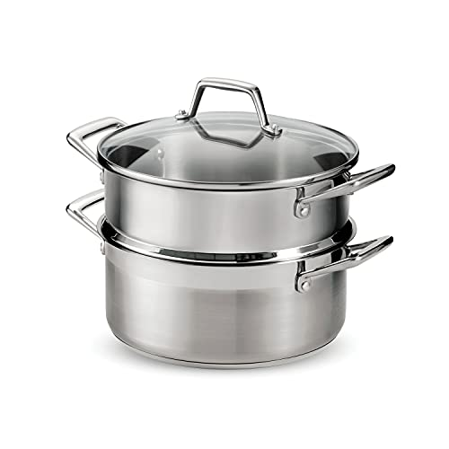 Tramontina Steamer Set Stainless Steel Induction-Ready 5 Quart,...
