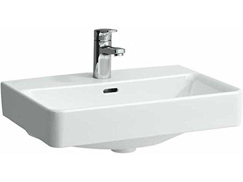Laufen Waschtisch kompakt Unterseite geschliffen Pro 600x380 LCC weiß, 8179594001041