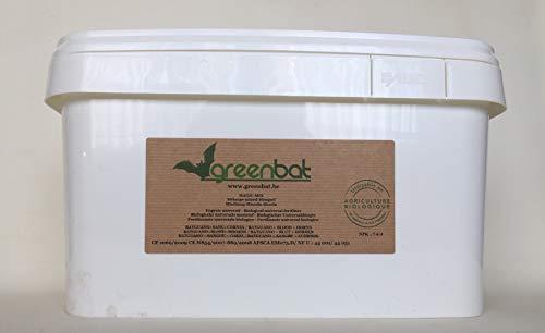 GREENBAT 8 kg de Polvo NPK 7-6-3 Mezcla de Fertilizante biol