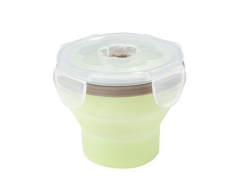 Babymoov Pot de Conservation de Lait Contenants Silicone 240 ml