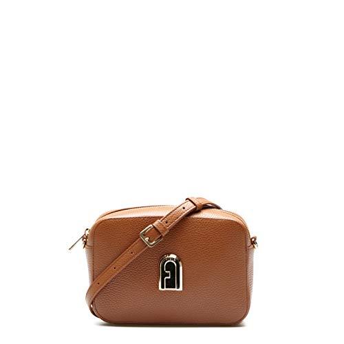 Furla Mini Crossbody Bag Sleek COGNAC h
