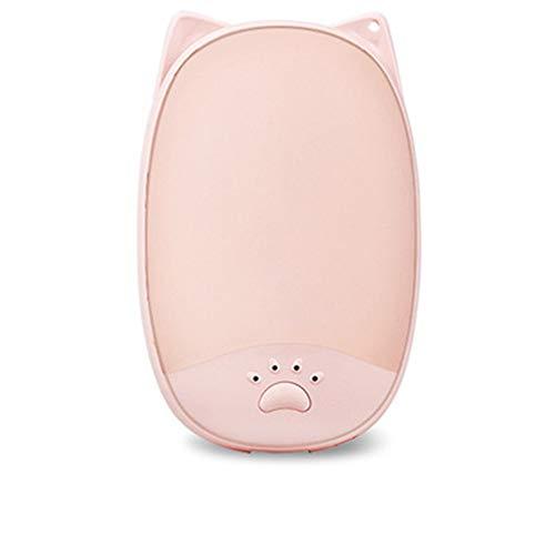 Jiayi multifunctionele mano draagbare bank met verwarmende en warme ruimte voor dubbele USB-gebruik warm, roze