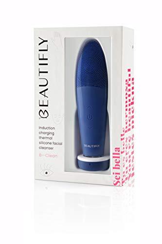 Beautifly, BClean Induktions Ultraschall Gesichtsreinigungsbürste, Violett