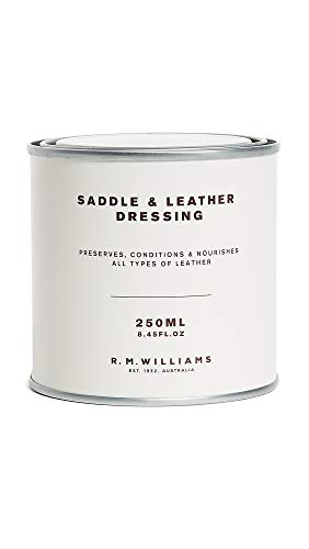 R.M. Williams Men's Saddle Dressing, Natural, Off White, One Size