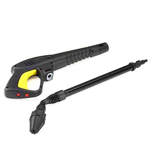 Hochdruck-Wasser-Gewehr 45 Grad-Düse Sprayer for LAVOR / VAX / COMET Hochdruckreiniger Lackierpistolen + Lance Spray Für Autowaschanlagen Gartenpflanze Bewässerung ( Color : Black , Size : One Size )