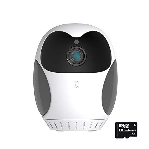 1080P Hd Mini cámara Wifi Smart Home Night Vision 4x Zoom Digital Batería incorporada, almacenamiento en la nube, alarma push, vista previa en tiempo real, cámara de seguridad giratoria de 360 grados