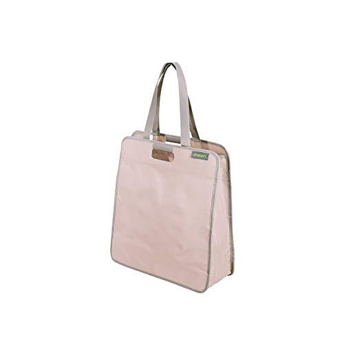 Faltbare Einkaufstasche L Dream Rose/Uni 46x17x50cm Polyester stabil abwischbar Shopper Trend Sport Wellness Transport Umhängen