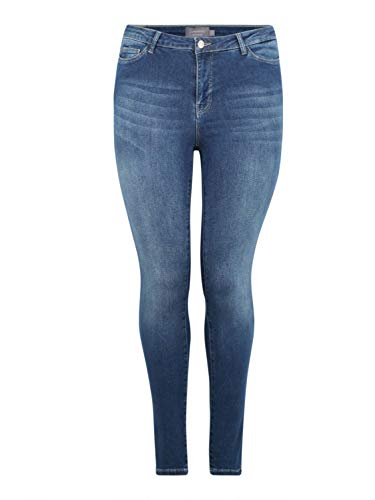 Junarose Damen JRFIVE Shape NW MED K NOOS Slim Jeans, Blau (Medium Blue Denim Medium Blue Denim), W29 (Herstellergröße: 38)