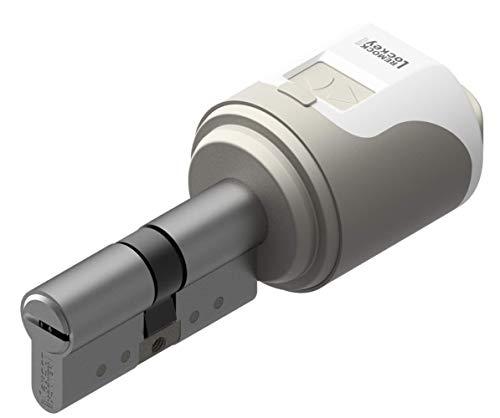 Cerradura electrónica inteligente Remock Lockey Magic con cilindro 30x40 Níquel