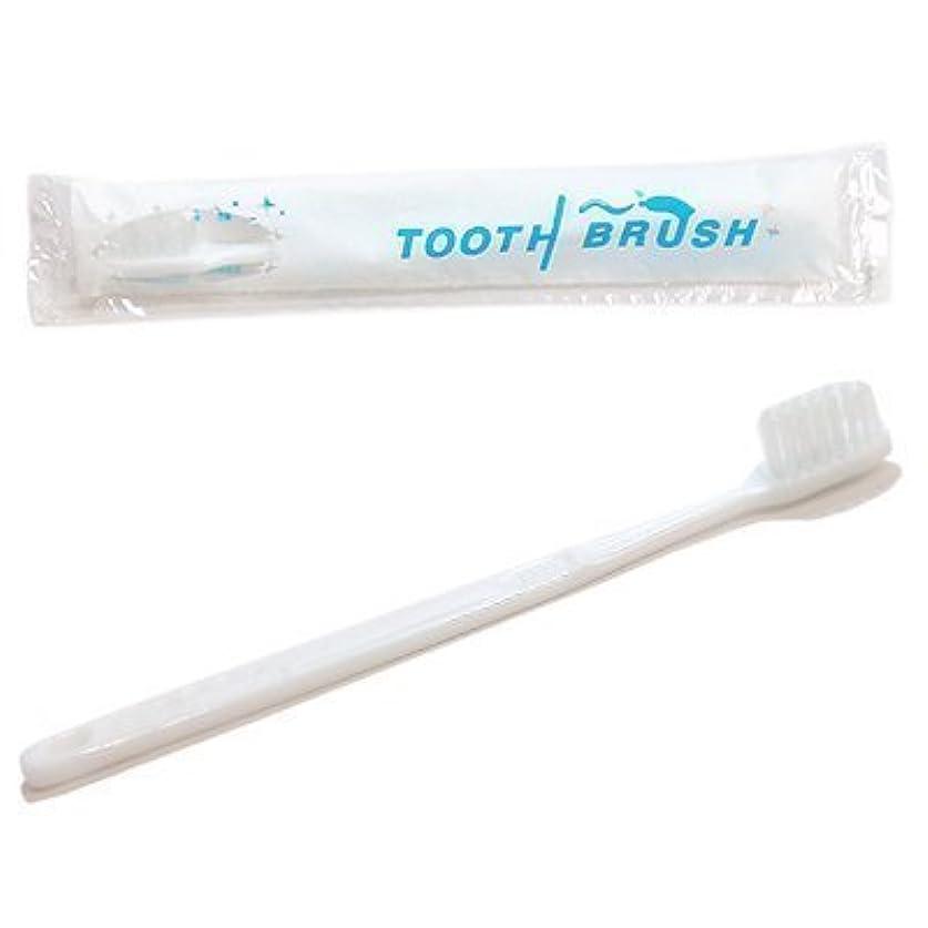 シニス征服する噴水使い捨て 粉付き歯ブラシ x80本