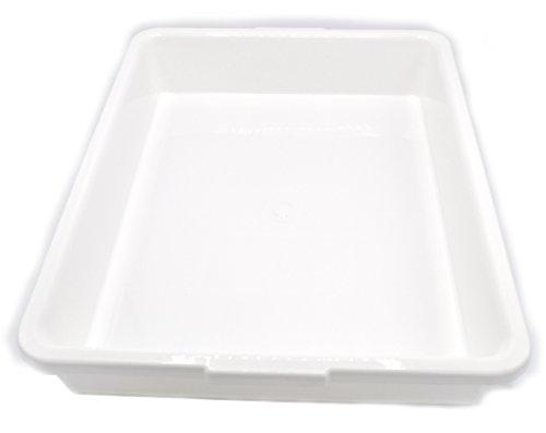 Laboratory Tray - 17.5 x 13.5 x 3 Inches - Polypropylene Plastic