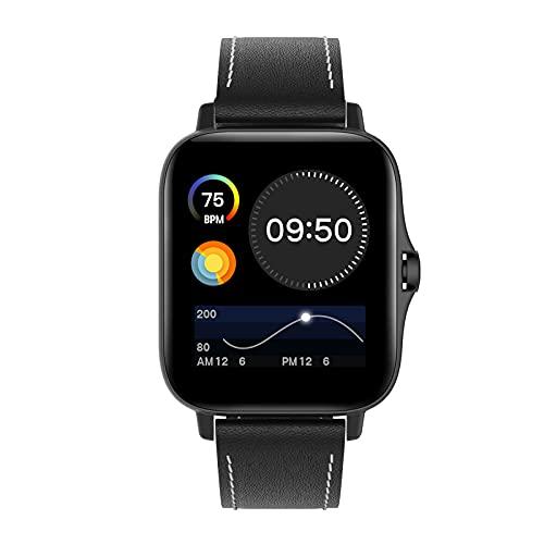 HQPCAHL Smartwatch Tracker Fitness Touch Screen da 1,3 Pollici con Ricezione/Rifiuto Telefonate/Composizione Chiamate Tracker attività con Contapassi per Uomo Donna per Android iOS,H