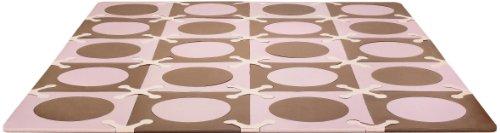 Skip Hop 245009 Spielmatte, rosa/braun
