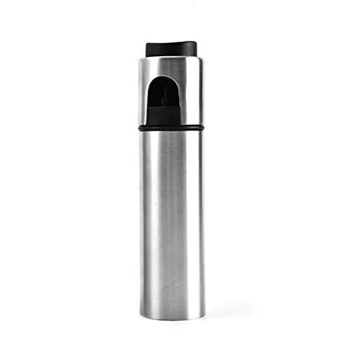 Rubyu - Pulverizador de Aceite, Botella de Acero Inoxidable, 500 ml de Aceite y vinagre para cocinar, Asar, Asar, Asar y cocinar