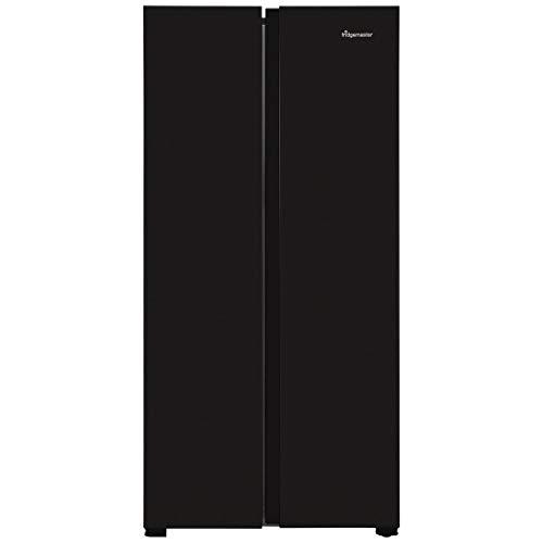 Fridgemaster MS83430FFB American Fridge Freezer - Black - A+ Rated