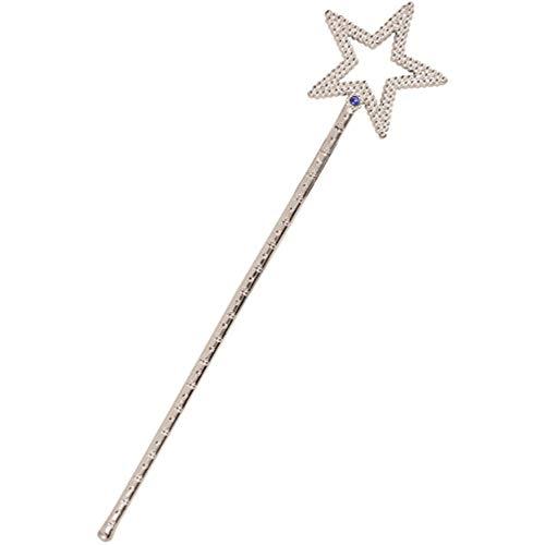 WAND STAR SILVER 35CM