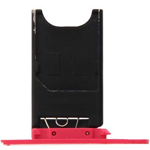 Chengcunxing Strumenti di Riparazione, Completamente in Forma e Sostituzione/Sostituzione del Vassoio della Carta SIM for Nokia Lumia 800 (Nero) (Color : Magenta)