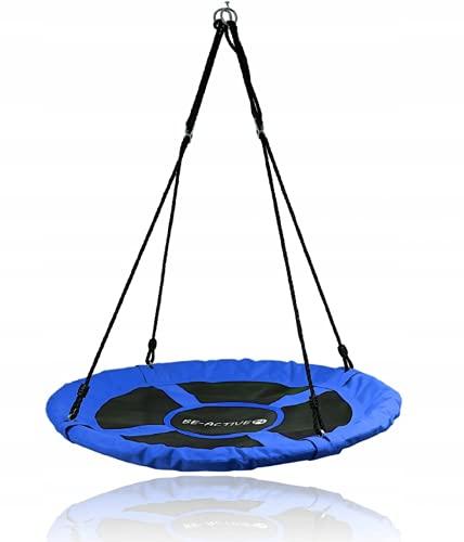 Columpio infantil plegable, 100 cm, hasta 150 kg (azul #E06832)