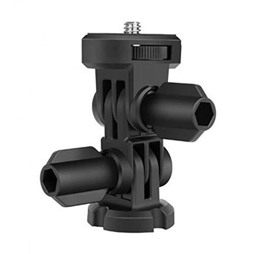 FUQUANDIAN 3-Way 1/4 cámara Tornillo de Montaje de trípode Accesorios Adaptador for...