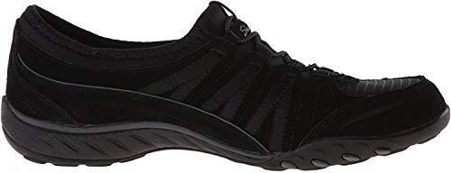 Skechers Damen Relaxed Fit: Breathe Easy - Moneybag Sneaker,  Black , 40 EU