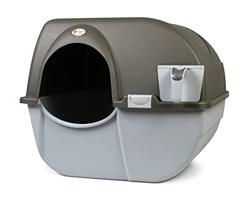 Omega Paw NRA15-1 Improved Roll 'n Clean Self Cleaning Litter Box