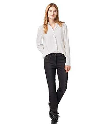 BRAX Damen Shakira 70-3950 Skinny Jeanshose, Schwarz (Used Black 02), 44