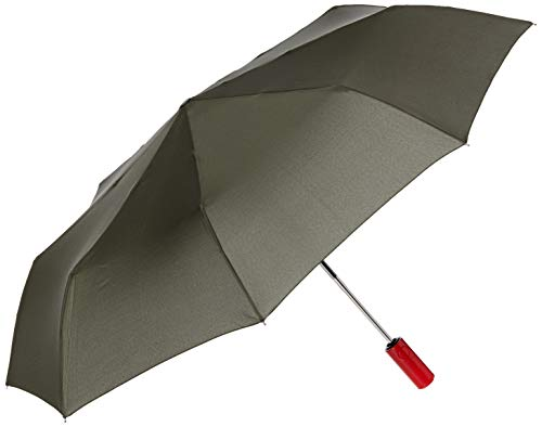 Hunter Boots Men's Original Auto Compact Umbrella, Dark Olive, Green, One Siz