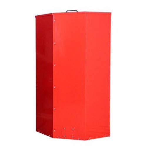Preisvergleich Produktbild Atmos Pelletbehälter / Pelletsilo 1000 Liter rot