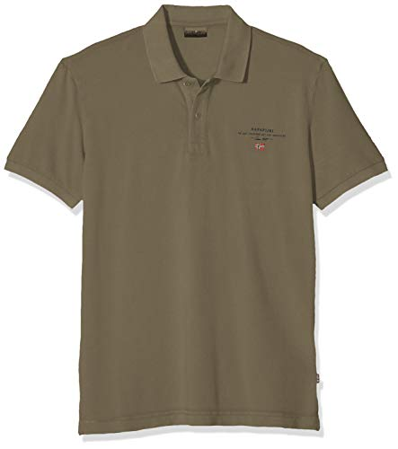NAPAPIJRI Elbas 2 Polo, Verde (New Olive Green Gd6), Small Uomo