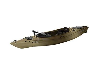 Evoke Conquer 120 Fishing Kayak Camo