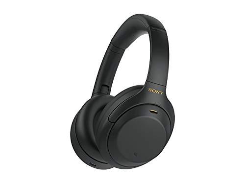 ソニー ワイヤレスノイズキャンセリングヘッドホン WH-1000XM4 : LDAC/Amazon Alexa搭載/Bluetooth/ハイレゾ 最大30時間連続再生 密閉型 マイク付 2020年モデル ブラック WH-1000XM4 B