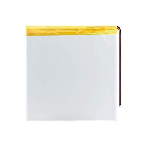 wangxiaoping Batería Recargable de polímero de Litio de polímero de Litio de 3,7 V 30100100 6000 mAh, Repuesto para Libro electrónico, Tableta, portátil, Libro electrónico-3,7 V_4 Piezas