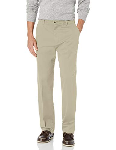 DOCKERS Men's Classic Fit Easy Khaki Pants D3, Cloud (Stretch), 32 30