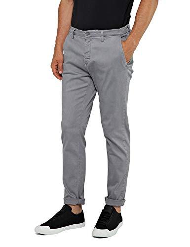 Preisvergleich Produktbild Replay Zeumar Slim Herren Jeans Gr. 300g,  grau