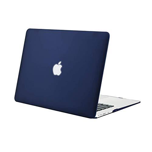 MOSISO Case Compatibile con MacBook Air 13 Pollici (Modelli: A1369 & A1466, Versione Precedente 2010-2017 Uscita), Custodia Rigid in Plastica,Blu Navy