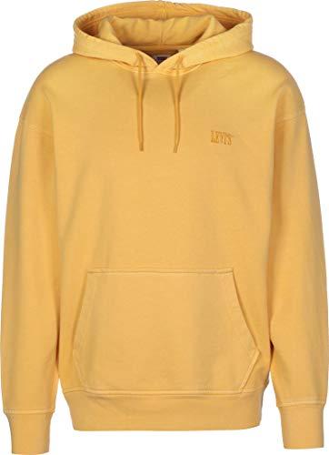 Levi's Levis 855340 Authentic Hoodie Sweater Herren Yellow L