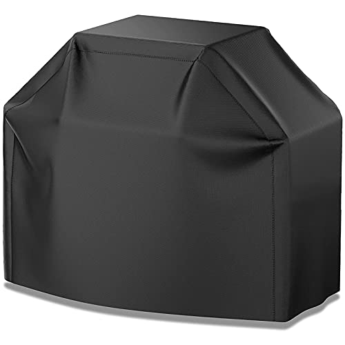 VIBOOS Grill Cover, 58in BBQ Gas Grill Cover, Waterproof, Weather Resistant, Sun Protection, Fade Resistant, uv Resistant, for Weber Char-Broil...