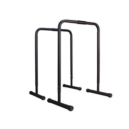 Escultura corporal CNHDG barra horizontal barras de la inmersión en paralelo con altura ajustable - Split individuales Paralelas Inicio Gimnasio Fitness Equipment - al peso corporal y gimnasia Entrena