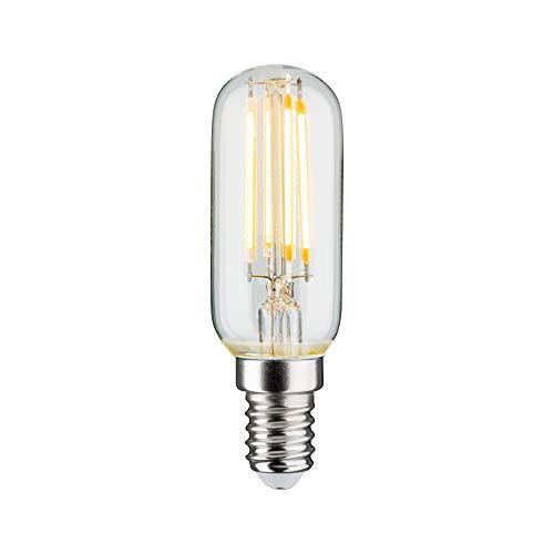 Paulmann 28693 LED Lampe Filament Röhre 4,8 Watt Leuchtmittel dimmbar Klar 2700 K Warmweiß E14
