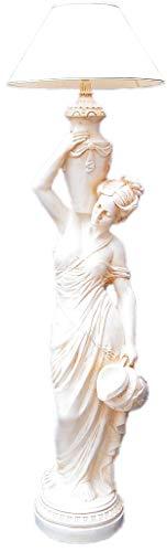 Kunibert Figurenstehlampe mit Schirm Diana am Brunnen Höhe175cm