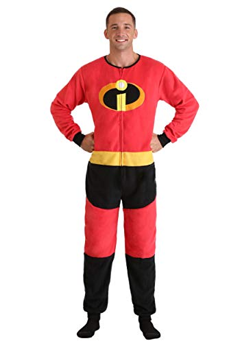 Incredibles 2 Disney Pixar Mr Incredible Union Suit Pajama for Men (Small/Medium)