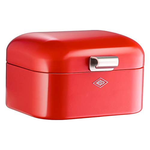 Wesco 235 001 Mini Grandy Brotkasten 17 x 18 x 12cm (L/B/H) rot
