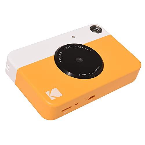 Câmera Digital Instantânea Rodomatic, Kodak, Amarela