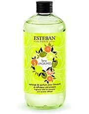 Esteban Paris Perfume Refill - 500 ml Land of Citrus For Bouquet and Ceramic Diffuser